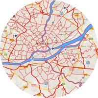 Données et cartes communes et quartiers